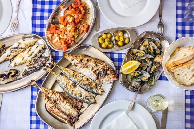 Petiscos da cozinha portuguesa